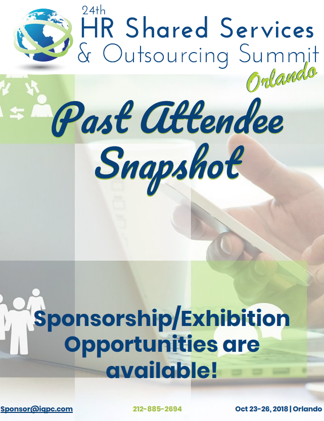 24th HR Shared Services & Outsourcing Fall - Past Attendee Snapshot
