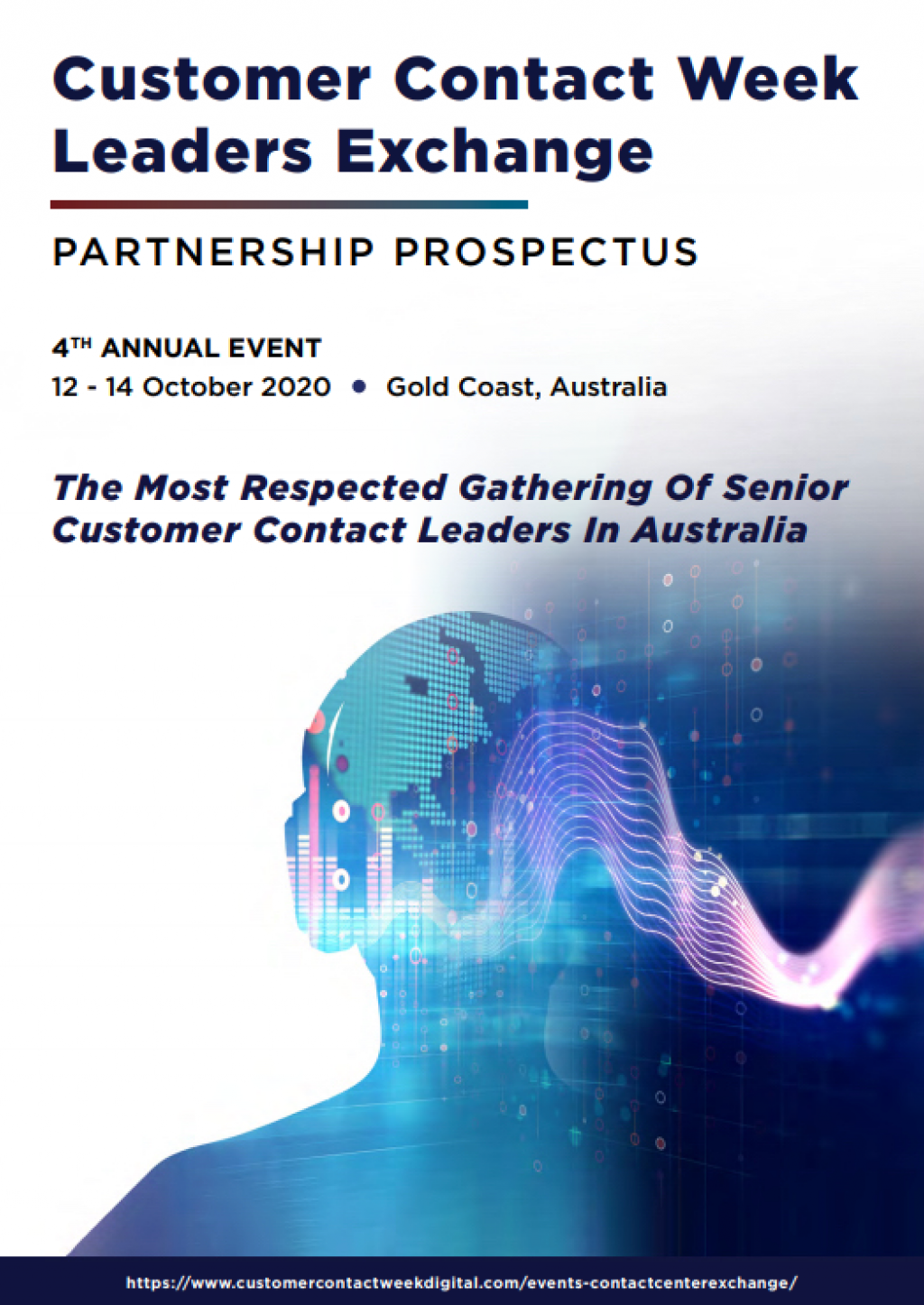 Customer Contact Leaders Exchange 2020 - Partnership Prospectus
