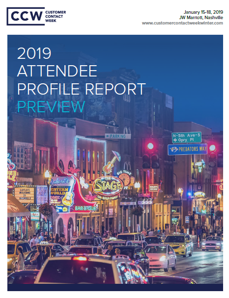 Attendee Profile Report: Preview