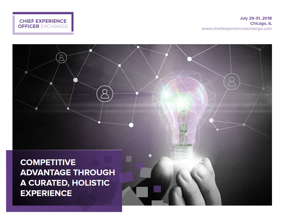 The Chief Experience Officer Exchange Brochure!