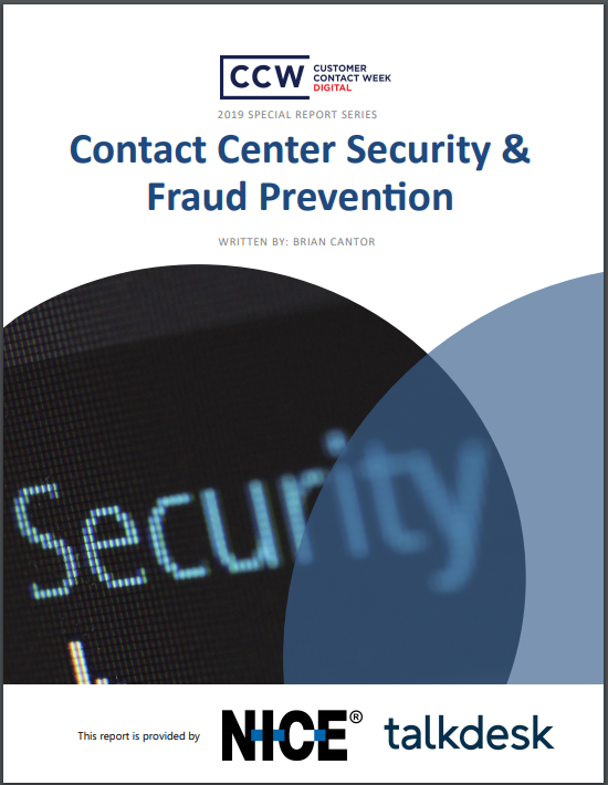 Special Report: Contact Center Security and Fraud Prevention