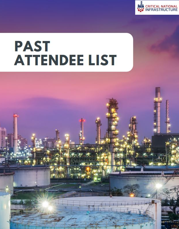 Critical National Infrastructure: Past Attendee List
