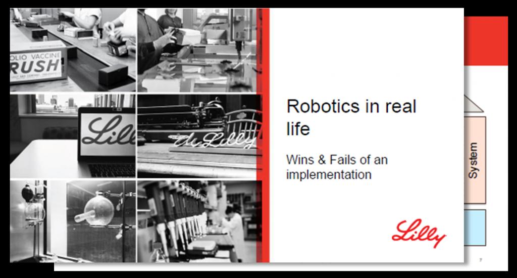 Präsentation: Wie können Robotics effektiv implementiert werden?