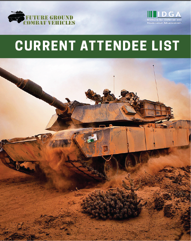 Future Ground Combat Vehicles 2019: Current Attendee List