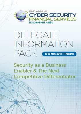 2nd Annual Cyber Security for Financial Services Exchange Delegate Information Pack