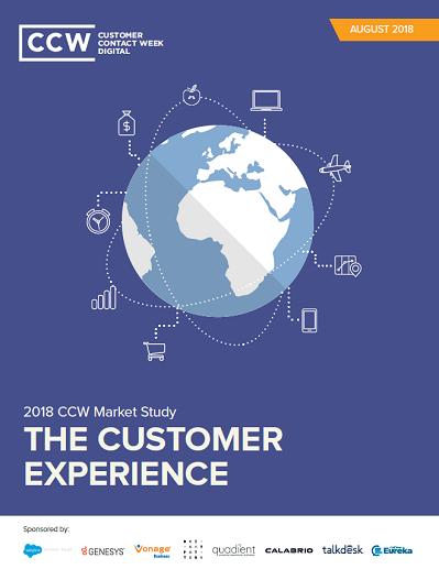 The Customer Experience Market Study