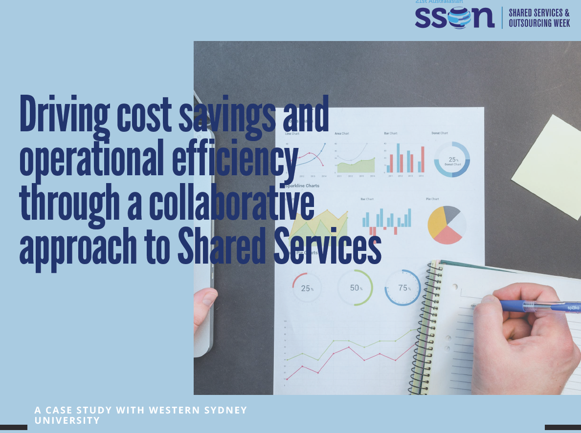 A Case Study with Western Sydney University: Driving cost savings and operational efficiency through a collaborative approach to Shared Services