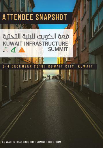 Attendee Snapshot: Kuwait Infrastructure Summit