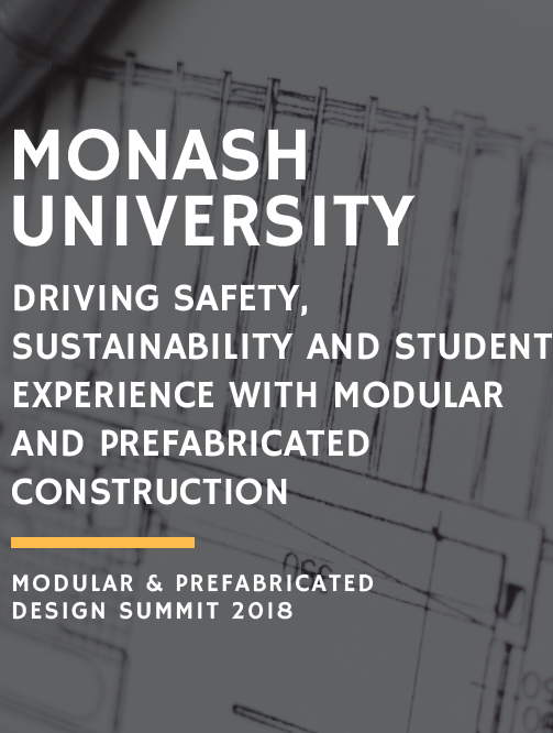 Driving Safety, Sustainability and Student Experience with Modular and Prefabricated Construction