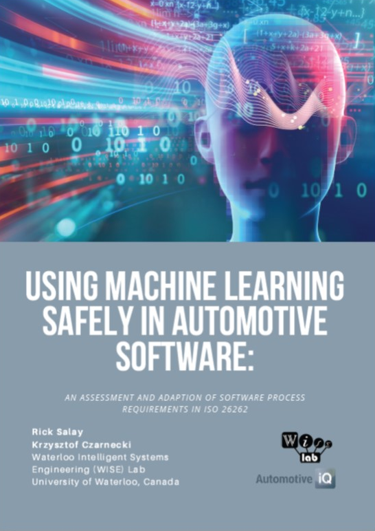 Whitepaper on Using Machine Learning Safely in Automotive Software