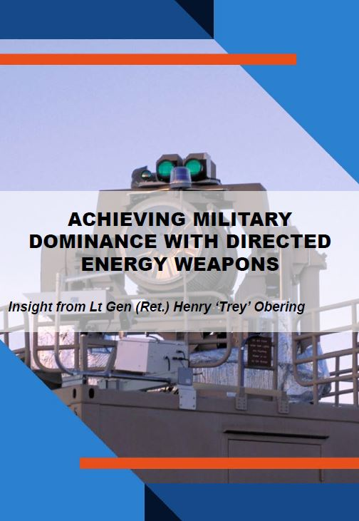 Achieving military dominance with directed energy weapons