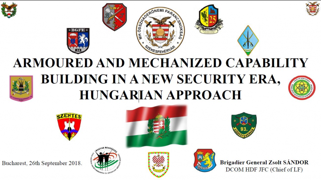 Armoured and Mechanized Capability Building in a New Security Era: A Hungarian Approach