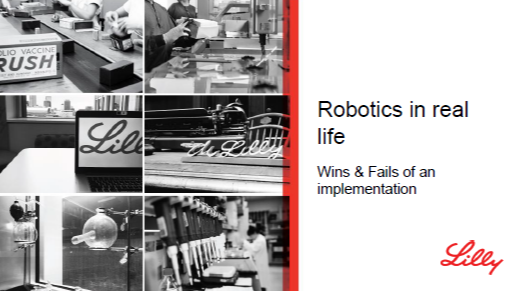Robotics in Real Life - Wins & Fails of an Implementation