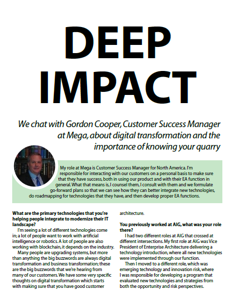 Deep Impact: A Case Study about Mega International