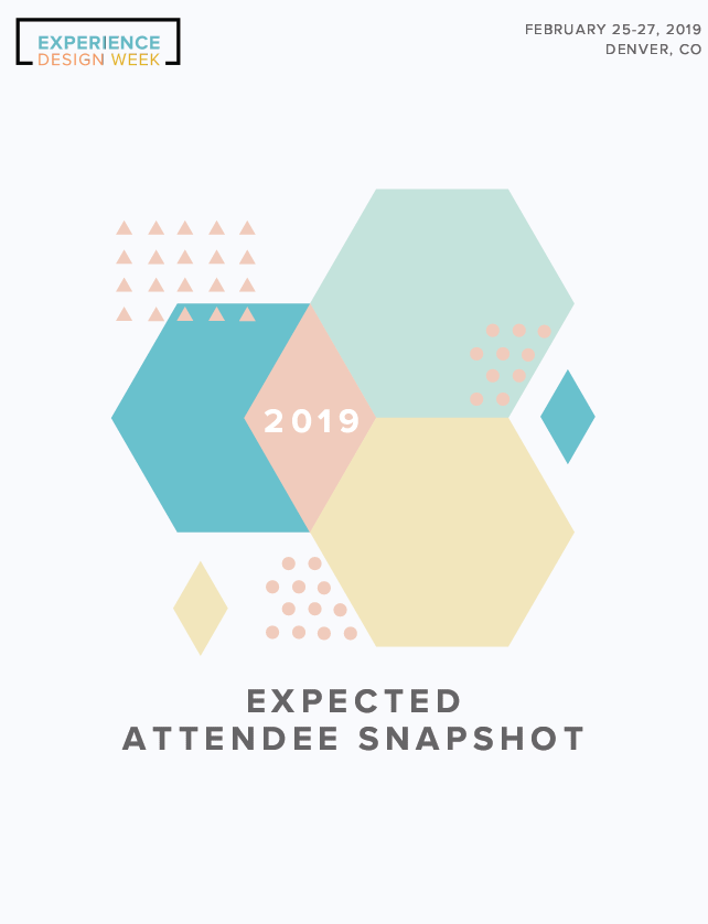 2019 Expected Attendee Snapshot