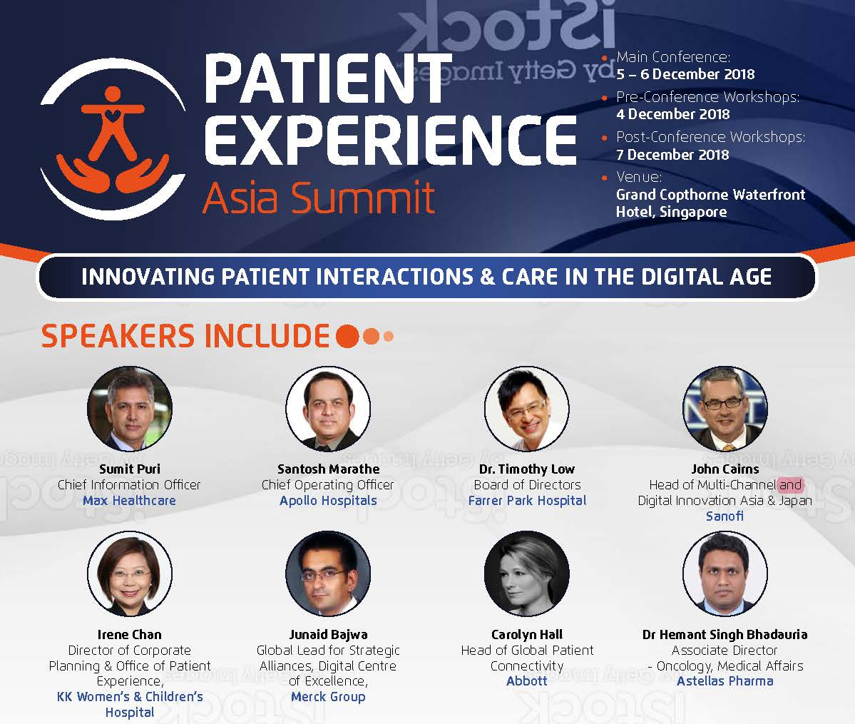 Download the Official Brochure - Patient Experience Asia Summit 2018