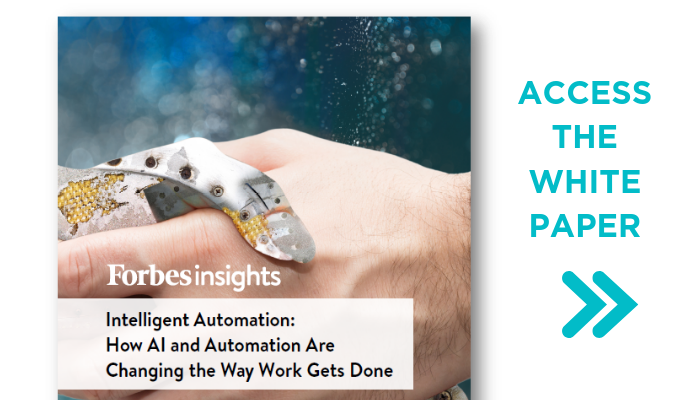 [White Paper] Forbes Insights: How AI and Automation are Changing the Way Work Gets Done