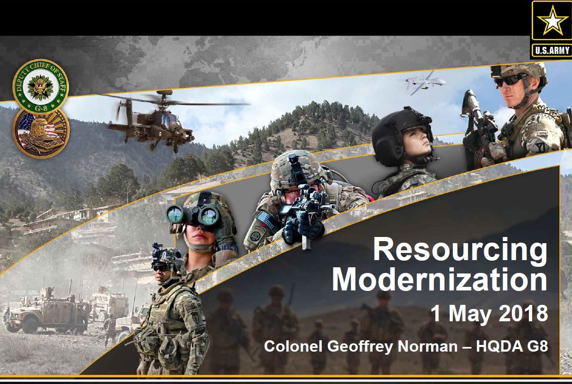Strategies for Resourcing Modernization and Next Generation Combat Vehicles