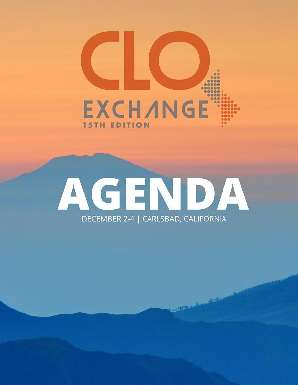 2018 CLO Exchange West Agenda
