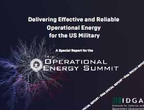 Delivering Effective and Reliable Operational Energy for the US Military