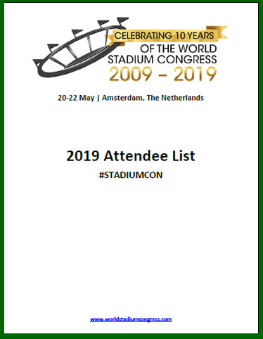 See Who Will Be Attending The World Stadium Congress