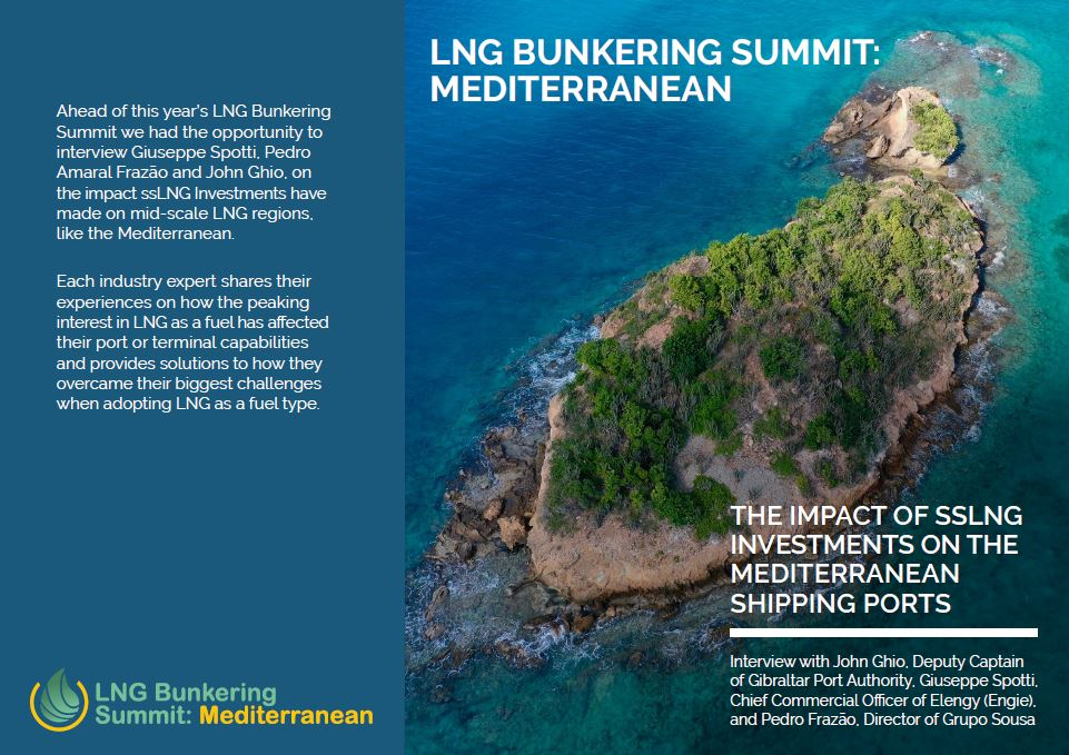 How has ssLNG Investments Impacted the Mediterranean?