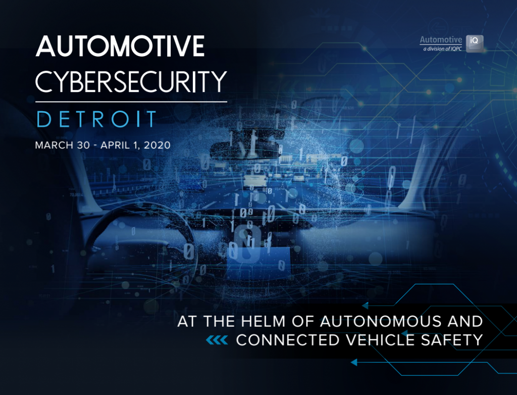 Automotive Cybersecurity Detroit 2020 Agenda