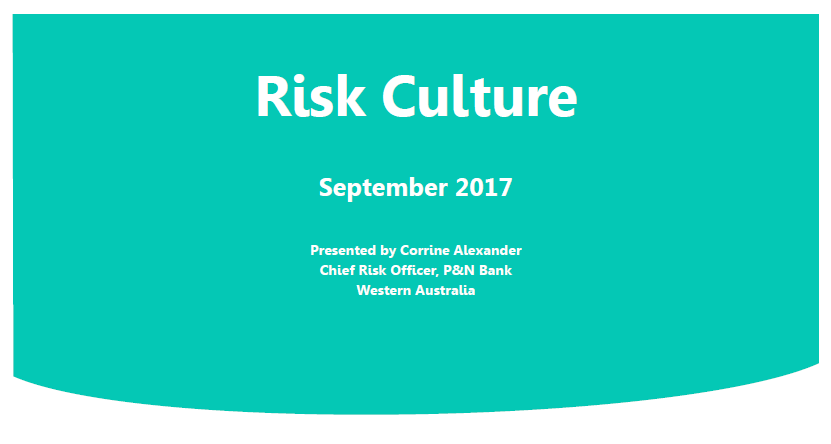 Developing a Strong Risk Management and Compliance Culture through Continuous Improvement to Staff Training