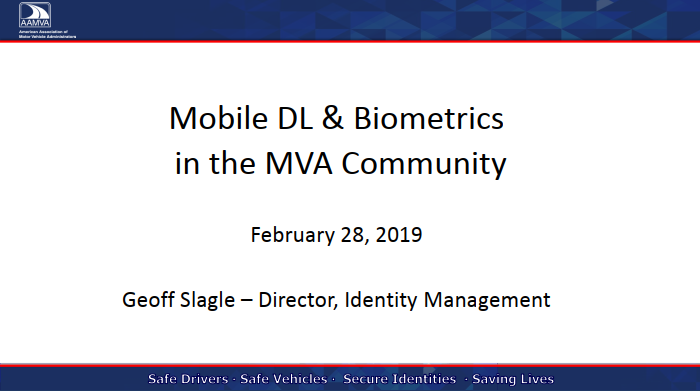 Mobile DL & Biometrics in the MVA Community