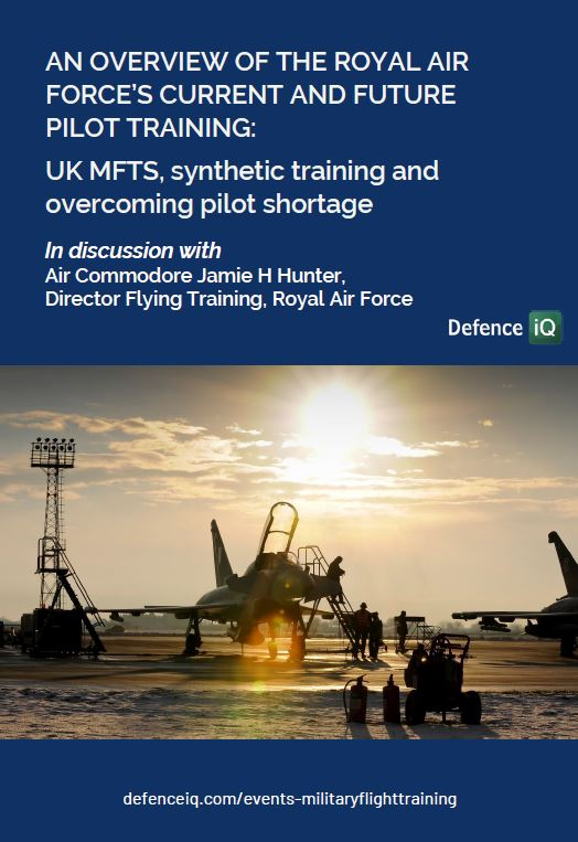 An overview of the Royal Air Force's current and future pilot training: UK MFTS, synthetic training and overcoming pilot shortage