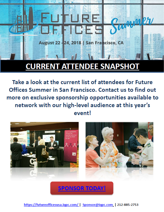 Future Offices Summer Current Attendee Snapshot