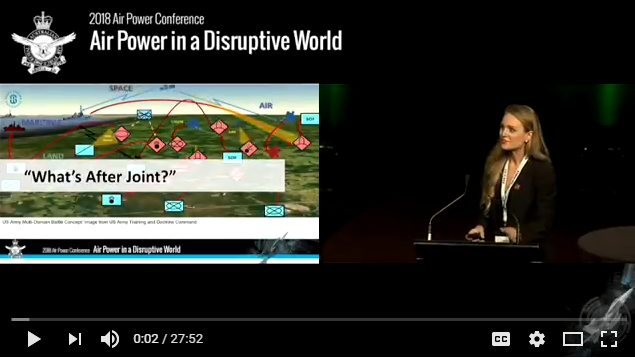 LIVE RECORDING of The Disruptive World & the Integrated Force, by Jennifer McArdle