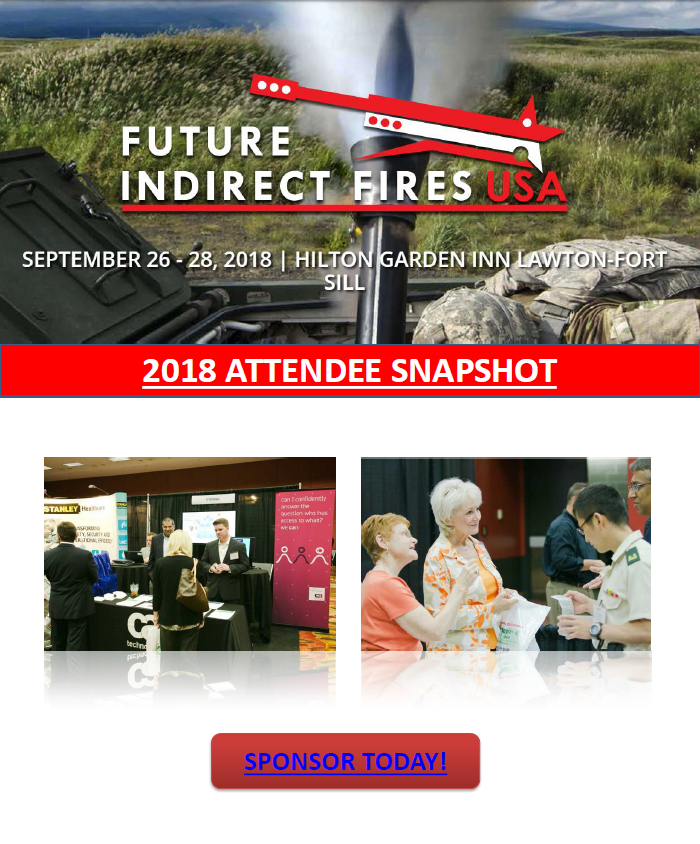 2018 Future Indirect Fires Attendee List