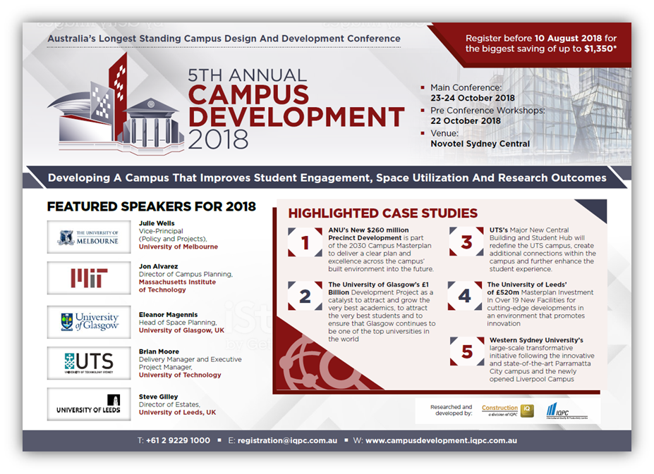 View 2018 Program - Campus Development
