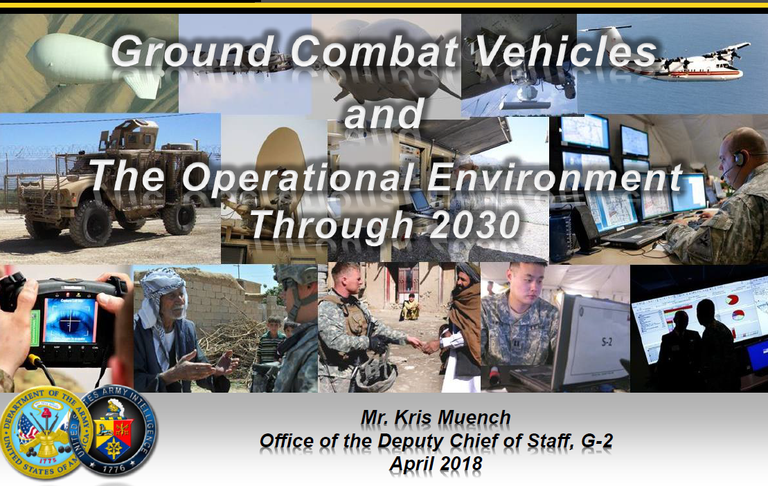 A Review Of Operational Environment 2035 & Intelligence Consideration