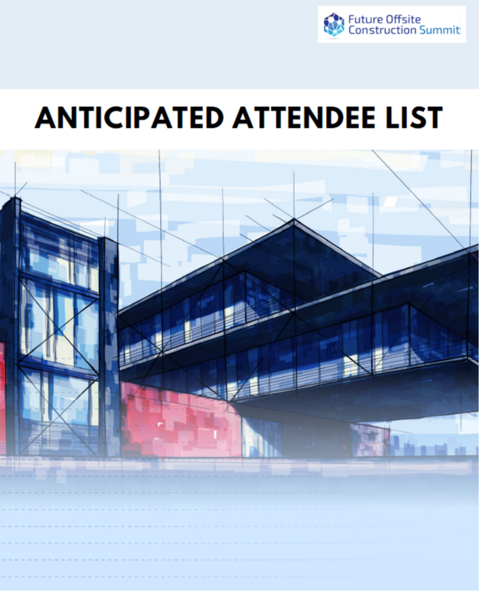 Future Offsite Construction 2019: Anticipated Attendee List