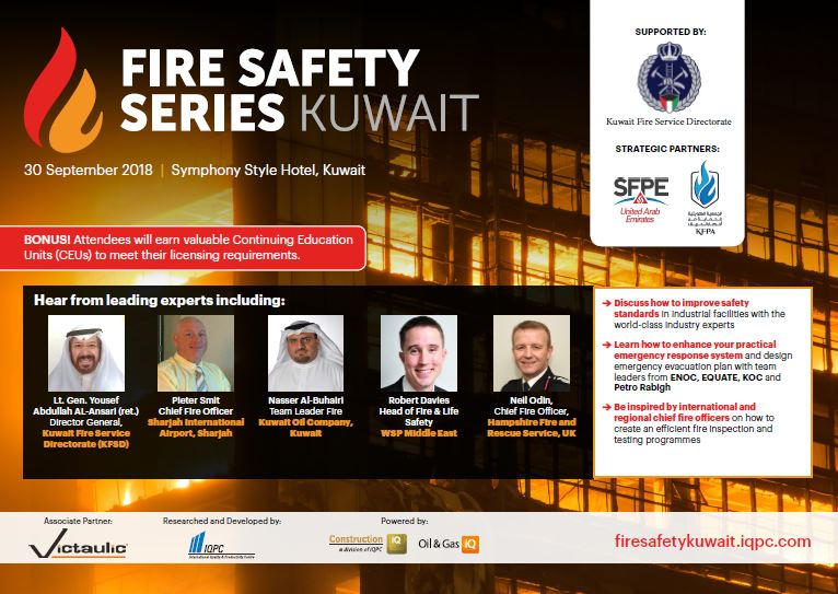 Agenda: Fire Safety Series Kuwait