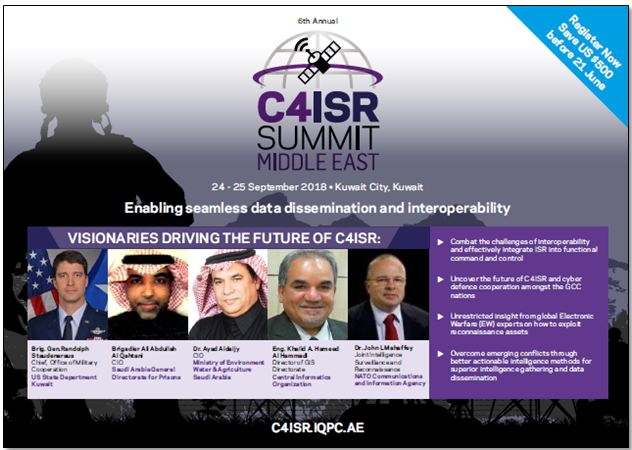 6th Annual C4ISR Middle East Summit - Brochure
