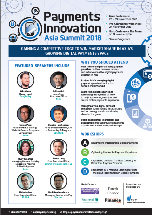 Payments Innovation Asia Summit 2018
