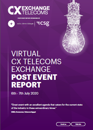 Virtual CX Telecoms Exchange Post Event Report 2020