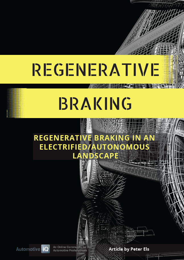 Report on Regenerative Braking in an Electrified - Autonomous Landscape