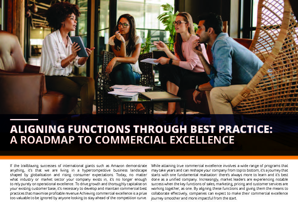 Read the Article - Aligning Functions through Best Practice: A Roadmap to Commercial Excellence
