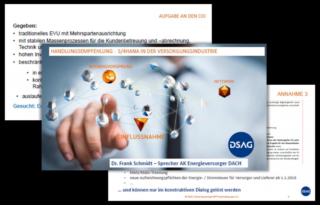 Präsentation: Handlungsempfehlung für S/4HANA in der Versorgungsindustrie