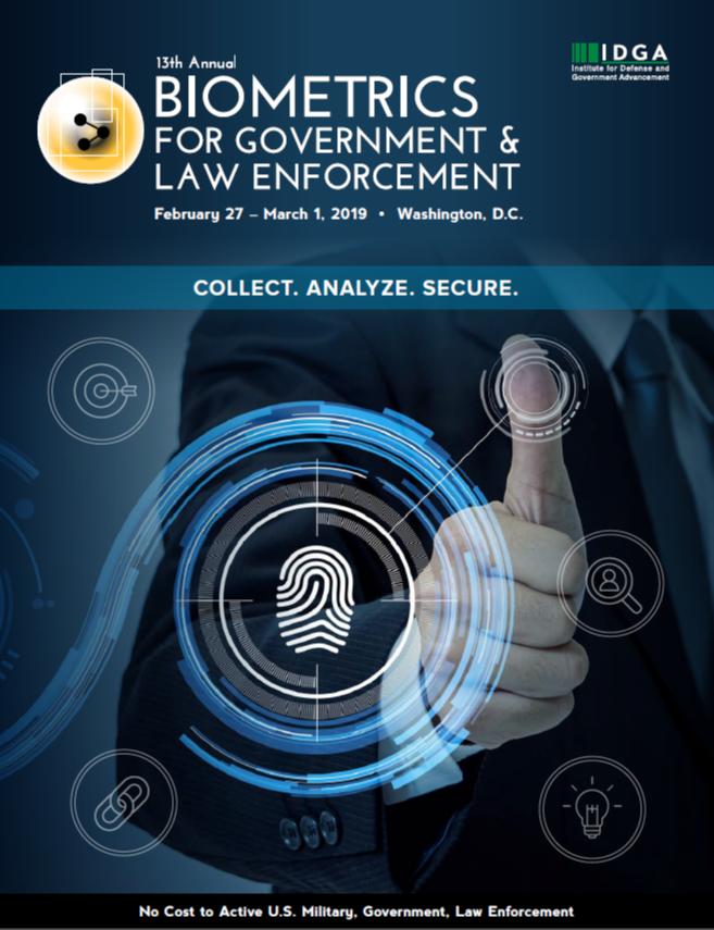 The Latest 13th Biometrics Brochure