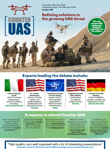 Download the Counter UAS Event Guide