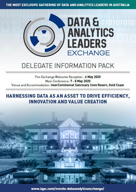 Data & Analytics Leaders Exchange 2020 Agenda