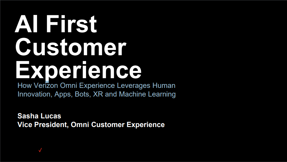AI First Customer Experience
