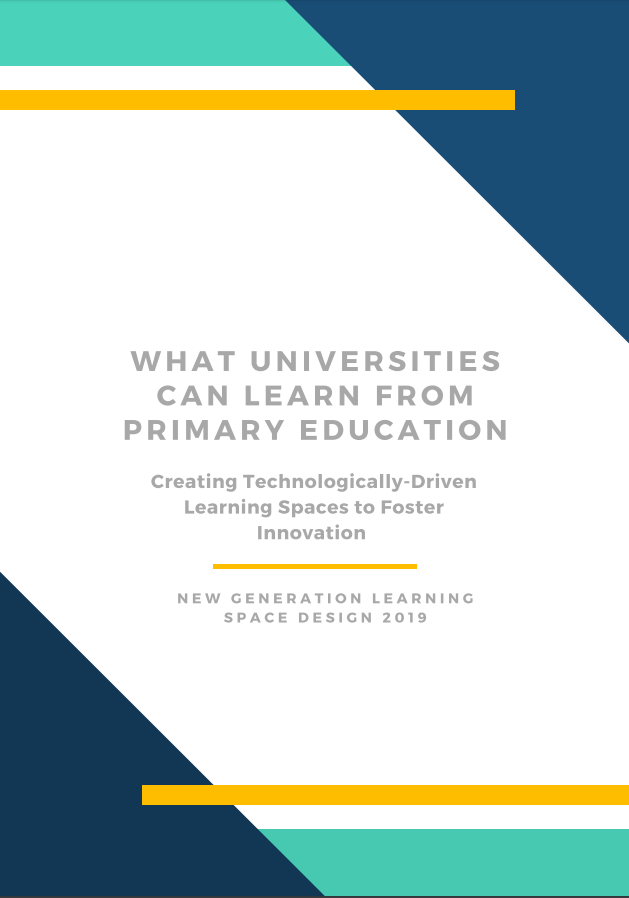 What Universities Can Learn From Primary Education: Creating Technologically-Driven Learning Spaces to Foster Innovation