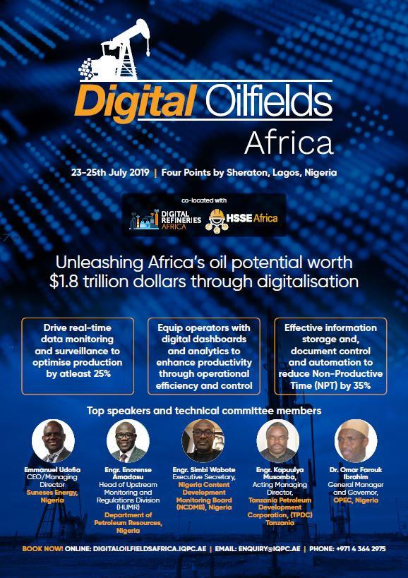 Digital Oil Fields Africa Summit 2019 - Brochure