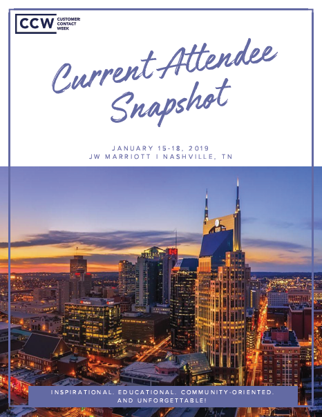 2019 Current Attendee Snapshot